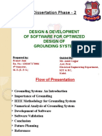 DESIGN & DEVELOPMENT  OF SOFTWARE FOR OPTIMIZED  DESIGN OF  GROUNDING SYSTEM