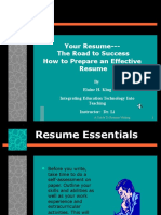 YourResume.ppt