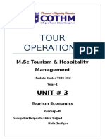 Up Dated Tour Operations Unit 3