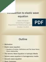 Elastic Wave