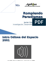 Rompiendo Paradigmas Javier Gramajo López Versión 1 0