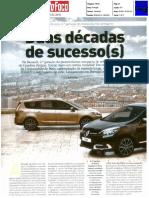 """20 ANOS DE HISTÓRIA DO RENAULT SCÉNIC NA """"AUTO FOCO"""""""