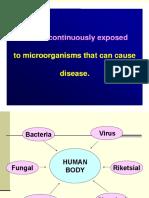 Iimmunology of Infection