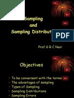 Sampling & Sampling Distribution
