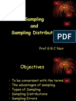 Sampling & Sampling Distribution