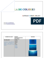 Tabla de Colores Final