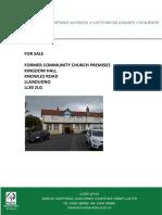 Kingdom Hall For Sale in Llandudno, Wales