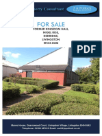Kingdom Hall For Sale in Livingson, Scotland