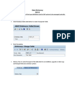 Data Dictionary for Documentation