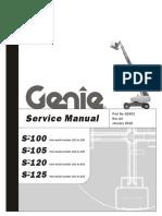 genie S-100.S-105,S-120,S-125