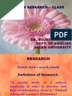 Research Class 1