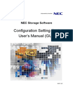 NEC IS007 ISM6 2 Config Setting Tool Users Manual GUI