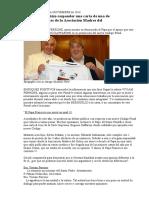 BERGOGLIO hizo responder una carta de una de las integrantes de la Asociación Madres del Dolor -EdiciónEnfoques +-Nº559-26-11-14