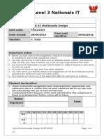 BTEC ICT Unit 43 Assignment Brief v5