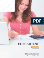 Brosura Comisioane Banca Transilvania