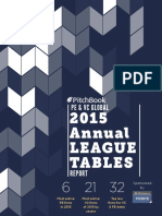 2015 Annual Global PE VC League Tables Report