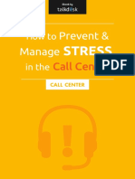 Talkdesk Stress in the Call Center New