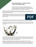 El Software de Trading moneda final... Comercio de las monedas del mundo como los profesionales!