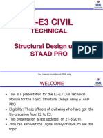 Chapter02.Structural Design Using STAAD PRO