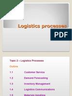 Logistics Processes
