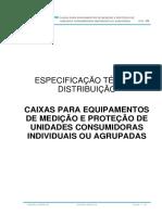 ETD-06-Caixas Equipamentos de Medição e Proteção