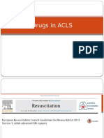 Drugs in ACLS 2015