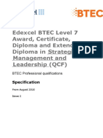 Level 7 Complete Course Outlines