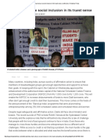India Must Ensure Social Inclusion in Its Truest Sense _ Editorials _ Hindustan Times
