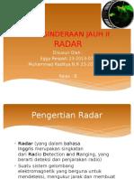 Penginderaan Jauh Tentang Radar