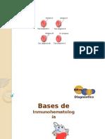Bases de Inmunohematología