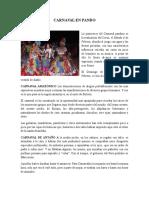 Carnaval en Pando