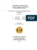 Laporan Magang BEDP Hortikultura (PT. Saribhakti Bumi Agri, Cicalengka)