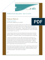 Share Grantee Newsletter Apr 2010