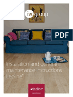 Leoline Installation and Maintenance