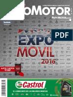 Revista Puro Motor Expomovil 2016