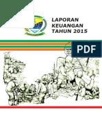 Laporan Keuangan Bumdes Tahun 2015