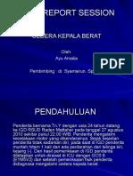 Case Report Session Icu