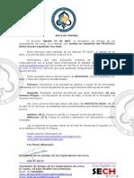 Nota Comida Benefica Pro Haiti