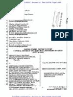 California foreclosure defense 1st Amendment Class Action complaint re Silverstein