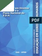 Educacao Em Direitos Humanos e o Plano Nacional de EDH