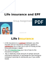 Life Insurance and EPF