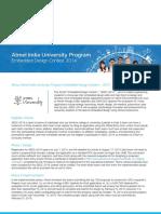 Atmel University India-Design Contest