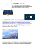 Pintura fotovoltaica