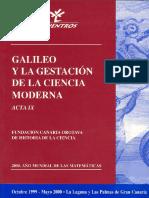 Fundación Canaria Orotava - Galileo y La Gestación de La Ciencia Moderna