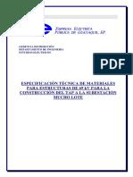 Especificaciones Tecnicas Materiales TAP a 69 kV MUCHO LOTE electricas.pdf