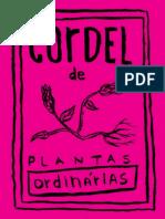 Cordel de plantas ordinárias