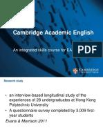 Cambridge Academic English