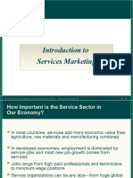 Chapter 01 Introduction to Services Marketing