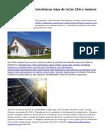 Paneles solares y fotovoltaicas tejas de techo Elite y mejoras en el hogar, LLC