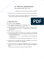 Discrete Optimization - 2015-02-20